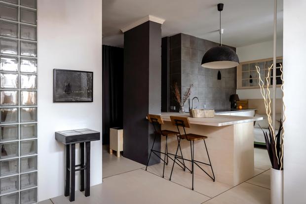 Фото №4 - Маленькая квартира в экостиле