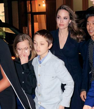 Фото №1 - Анджелина Джоли показала синяки под глазами