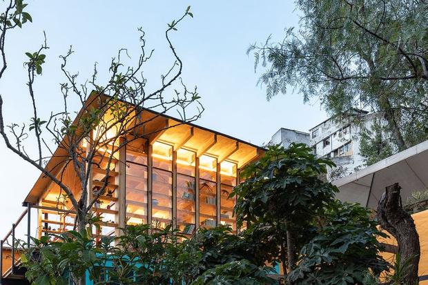 Фото №1 - Кабинет мечты на крыше для ученого-микробиолога