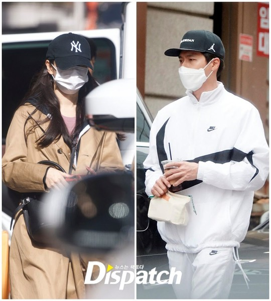 Фото №3 - Любовное приземление: Хён Бин и Сон Е Джин правда встречаются 🥰