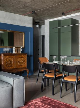 Фото №6 - Эклектичная квартира для пары путешественников в Минске