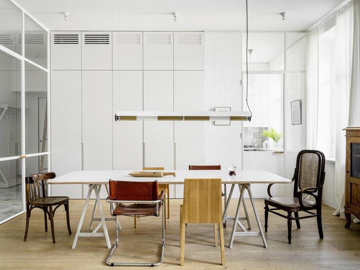 Фото №4 - Квартира архитекторов Наталии Трофимовой и Владимира Белоусова в Москве
