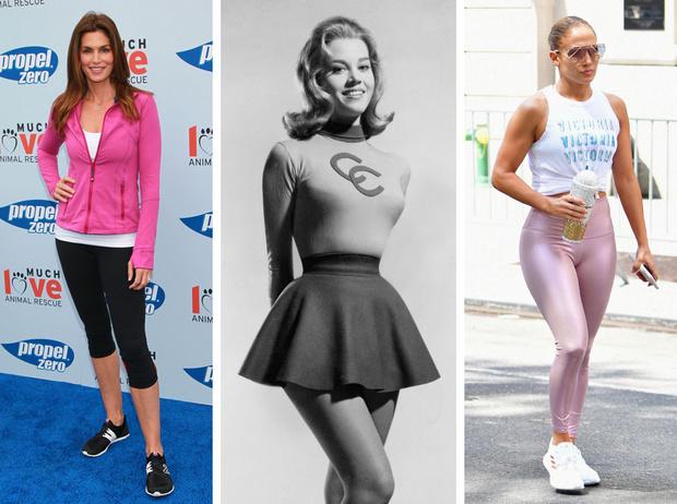 Фото №1 - От Джейн Фонды до Дженнифер Лопес: 5 культовых фитнес-икон (и их лучшие тренировки)