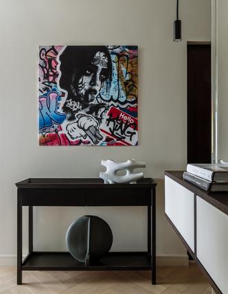 Фото №3 - Сила контраста: строгая мужская квартира 112 м²