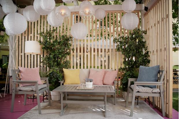 Фото №3 - Летняя pop-up веранда Eggsellent в ресторане «Фаренгейт» от дизайнеров ИКЕА