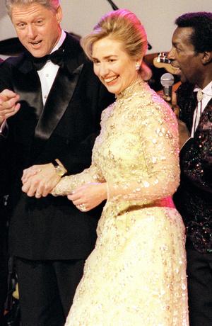 Фото №17 - Королевы Белого дома: самые роскошные инаугурационные платья Первых леди