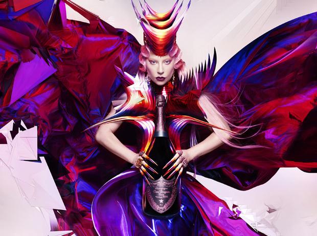 Фото №2 - Арт-вселенная двух культовых творцов: Леди Гага и Dom Perignon объявили о совместной коллаборации