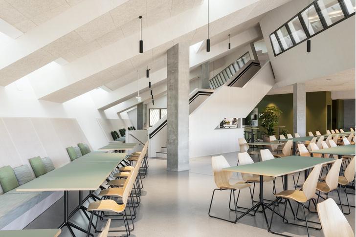 Фото №5 - Энергопозитивный офис по проекту Snøhetta в Норвегии