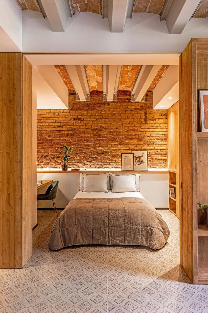 Фото №6 - Квартира со сводчатым потолком в Барселоне