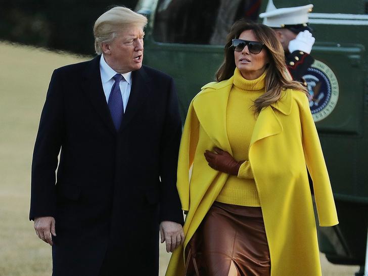 Фото №1 - Месть Мелании Трамп: как бывшая Первая леди реагировала на сообщения об изменах мужа