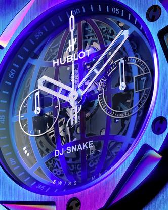 Фото №2 - Часы Hublot x DJ Snake в цветах вечеринки, которую вы не захотите пропустить