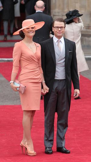 Фото №3 - Принцы, королевы, султаны: как выглядели монаршие гости свадьбы Кейт и Уильяма