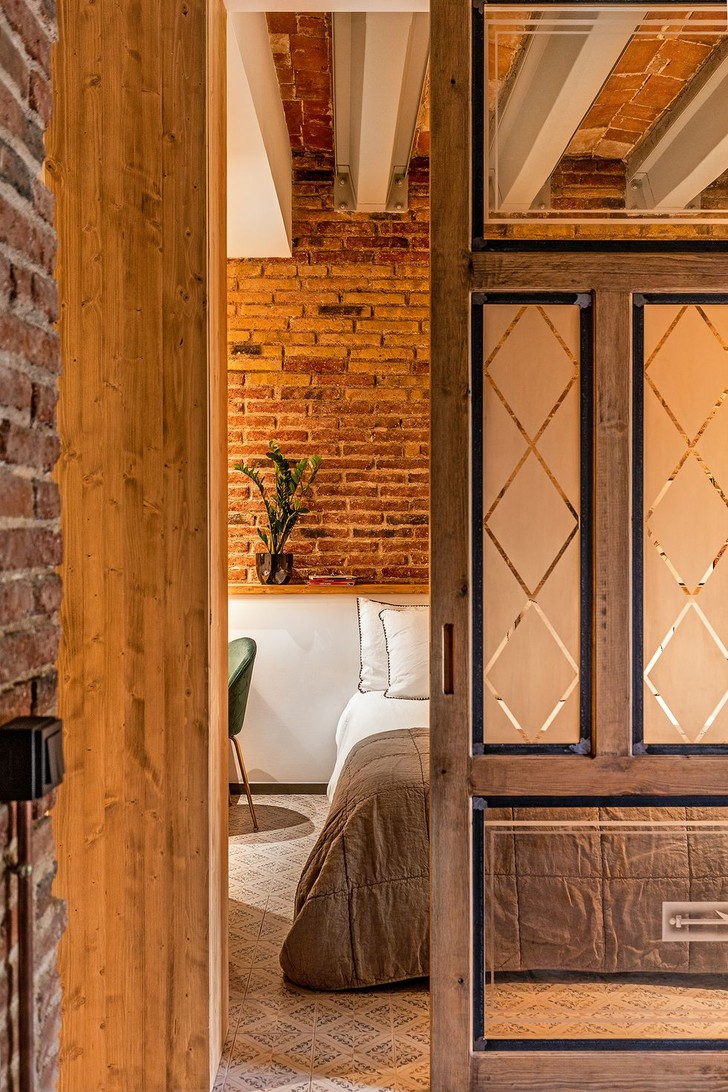Фото №5 - Квартира со сводчатым потолком в Барселоне