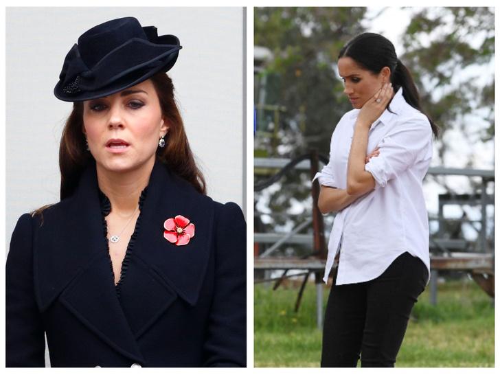 Фото №1 - Меган запретили появляться во дворце, а Уильям довел Кейт до слез: 5 новых (и очень странных) слухов о Виндзорах