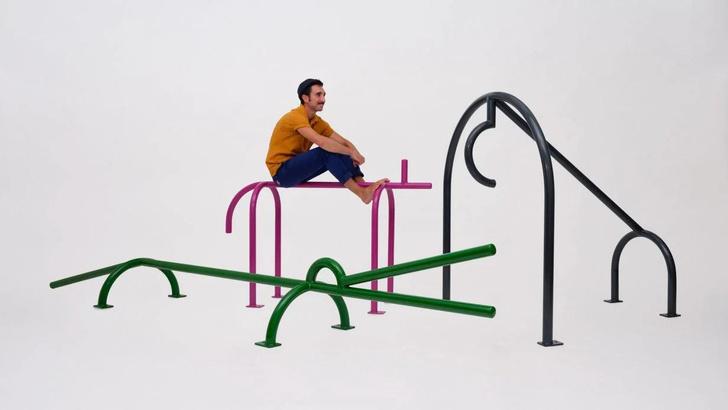 Фото №1 - Инсталляция на детской площадке в Амстердаме
