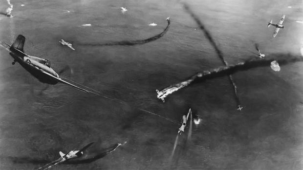 Фото №1 - Сравнение скоростей всех серийных истребителей Второй Мировой войны
