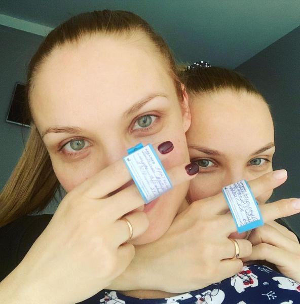 Фото №2 - Актрисы-близняшки Арнтгольц стали мамами с разницей в 20 дней