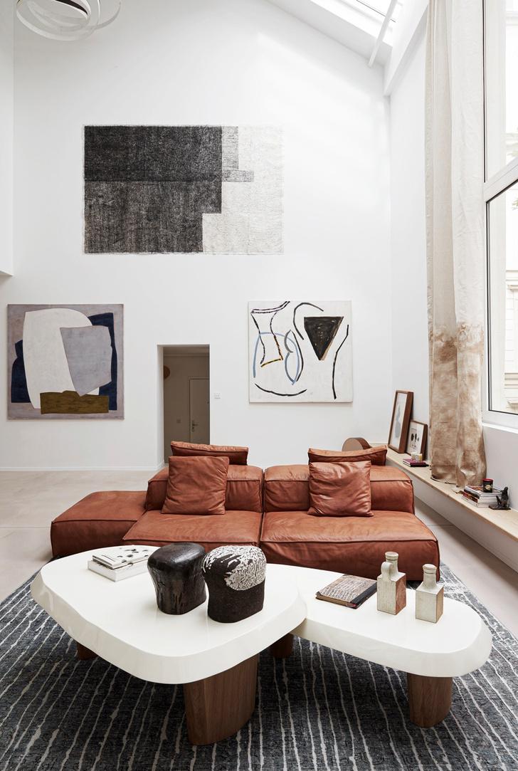 Фото №2 - Среда обитания: квартира галеристки Амели дю Шарлар в Париже