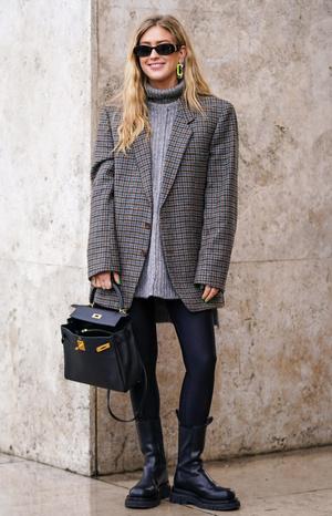 Фото №4 - Модный камбек: с чем носить леггинсы сегодня