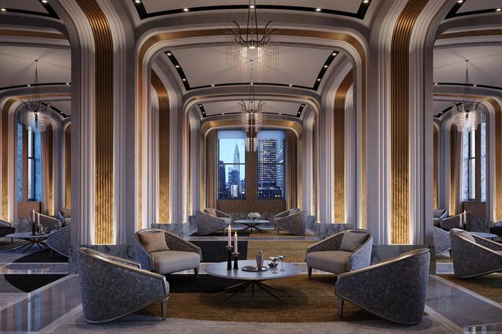 Фото №5 - Люксовые апартаменты по дизайну Жана-Луи Деньо