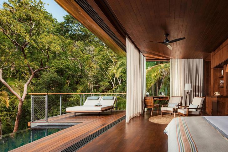 Фото №1 - Отель в тропическом лесу в Мексике