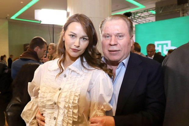 Анатолий Кучерена с супругой Анастасией