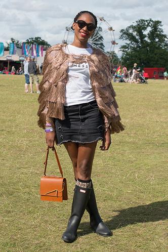 Фото №4 - Как носить резиновые сапоги и выглядеть стильно