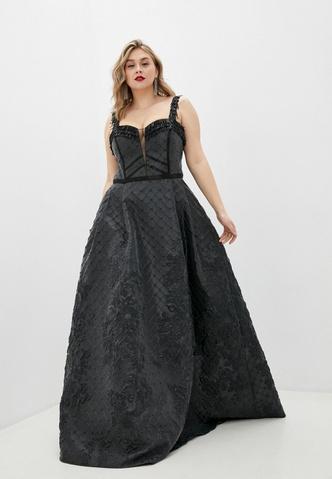 Фото №8 - Много красоты: 15 платьев на выпускной для plus size девчонок 👗