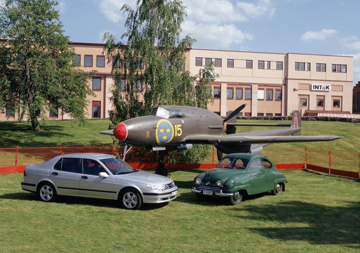 Фото №1 - Головокружительный взлет и стремительное падение: история автомобильной марки Saab