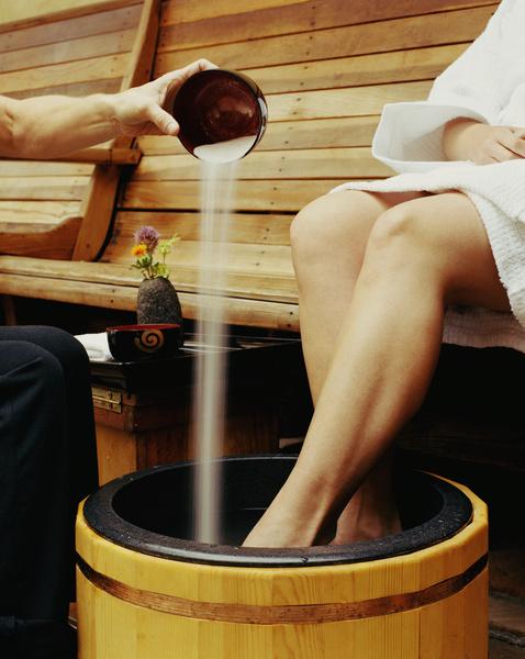 Как парить ноги в горчице