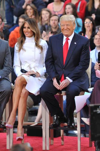 Фото №4 - Большая разница: как менялся стиль Мелании Трамп во время президентских кампаний мужа
