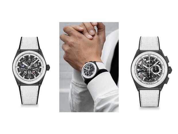 Фото №2 - Игра на контрасте: черно-белые часы Zenith для него и для нее