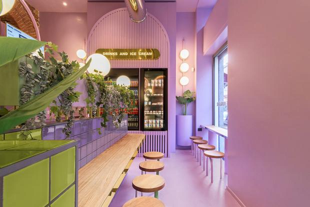 Фото №2 - Яркая закусочная Bun в Милане