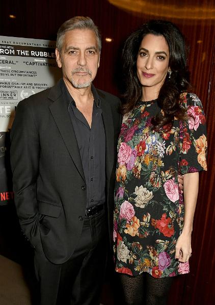 И все-таки правда: у Клуни будет двойня