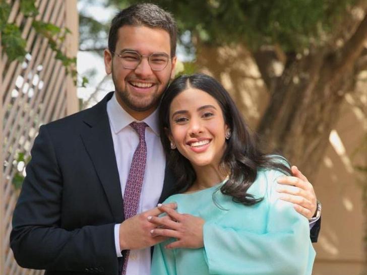 Фото №1 - Арабская Золушка и принц: как прошла свадьба сына короля Саудовской Аравии