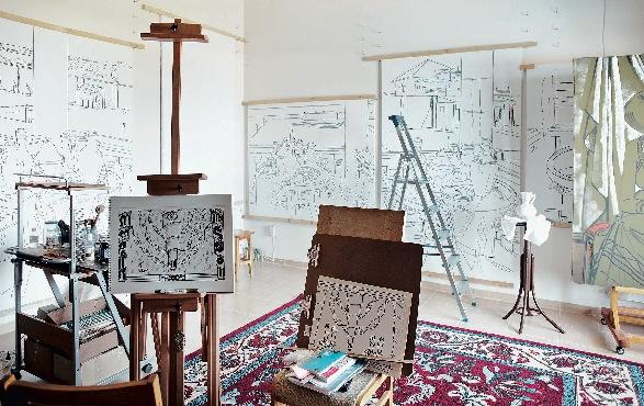 Фото №8 - Дом и мастерская Таира Салахова в Баку