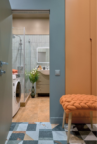 Фото №10 - Яркая квартира 46 м² для сдачи в аренду в Москве