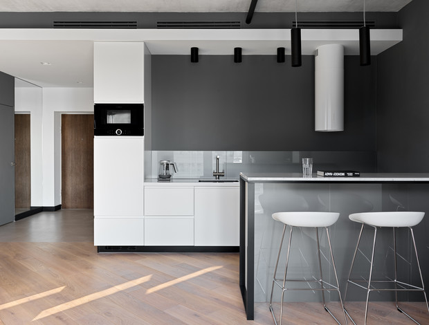 Фото №5 - Апартаменты в стиле минимализм на Маяковской