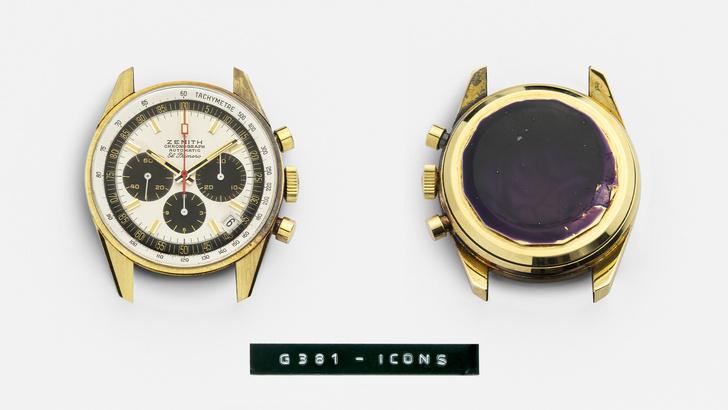 Фото №2 - Коллекционеры ликуют: золотые часы Zenith 1971 года сохранились в первозданном состоянии и доступны для покупки