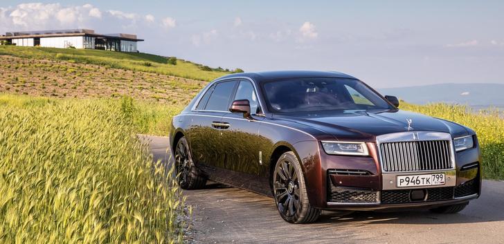 Фото №1 - Ти-ши-на! 10 важных фактов о новом Rolls-Royce Ghost