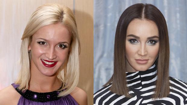 звезды резко перекрасившиеся из блондинки в брюнетку, знаменитые известные блондинки, брюнетки фото до и после 2020