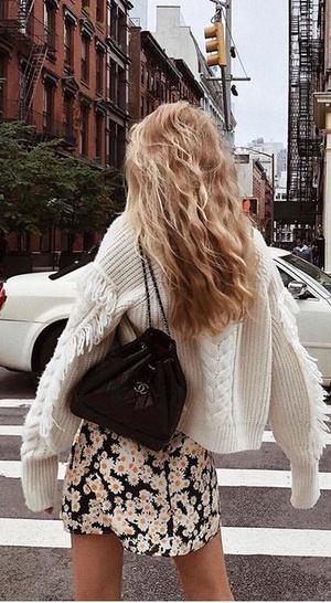 Фото №4 - Вопрос дня: как носить летнее платье зимой