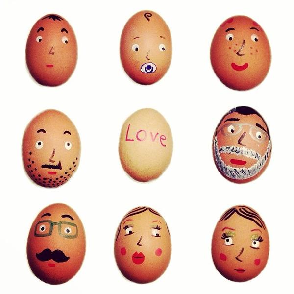 Фото №1 - Как расписать яйца на Пасху: советует Instagram