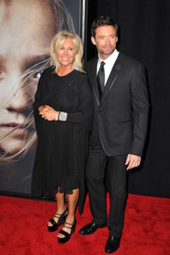 Хью Джекман (Hugh Jackman) с женой Деборрой-Ли Фернесс (Deborra-Lee Furness)
