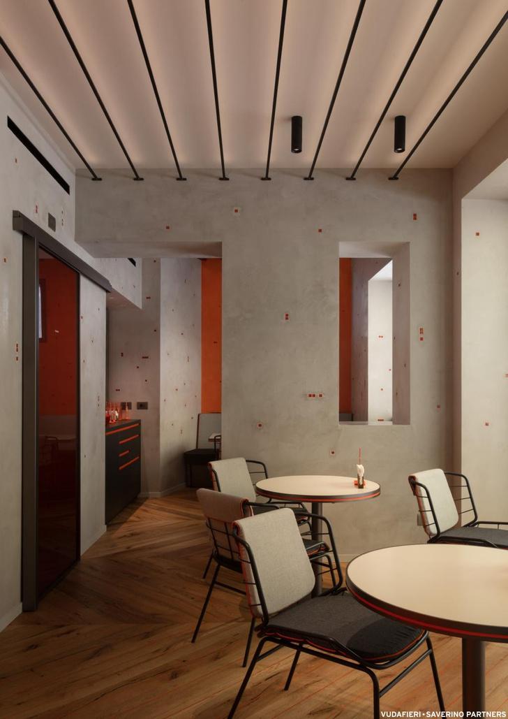 Фото №8 - Новый бар Aperol в Венеции по проекту Vudafieri-Saverino Partners