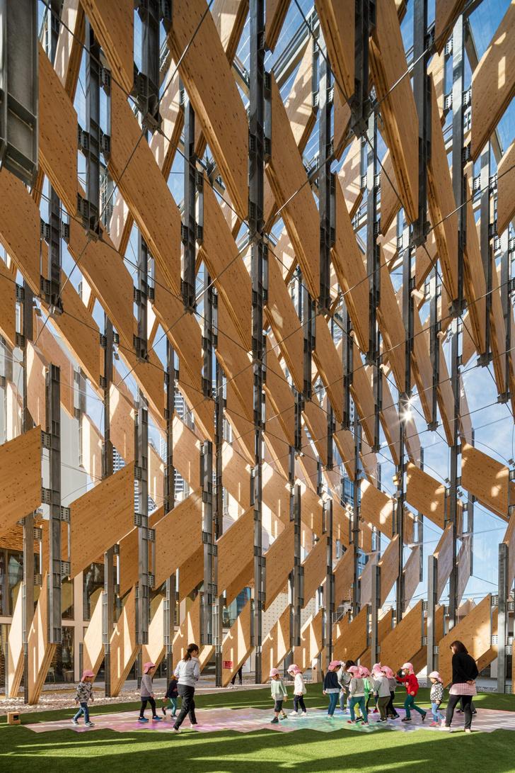 Фото №3 - Деревянный павильон по проекту Кенго Кумы в Токио