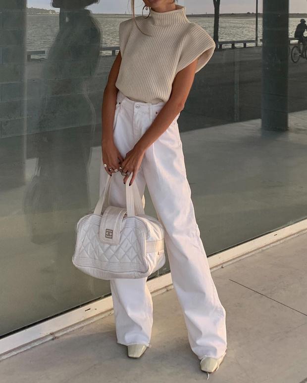 Фото №3 - Уютный свитер и широкие джинсы— самое уютное и комфортное сочетание: доказывает стилист София Коэльо