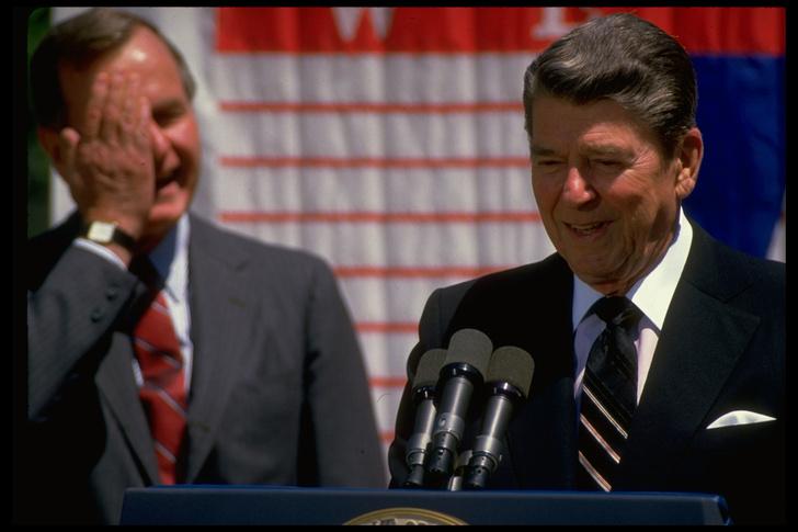 Фото №1 - Любимые советские анекдоты Рональда Рейгана (в том числе рассказанные им самим)