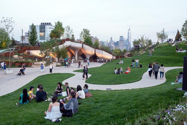 Фото №7 - Парк Little Island в Нью-Йорке по проекту Томаса Хезервика