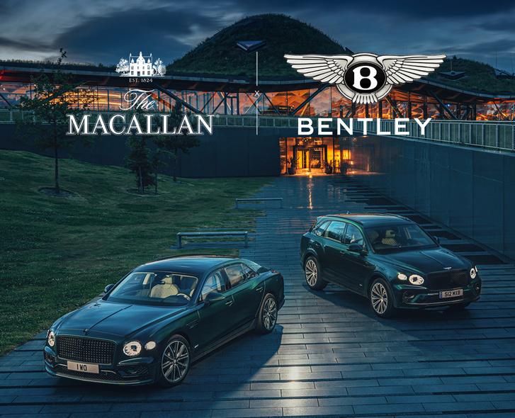 Фото №1 - The Macallan и Bentley Motors вместе отправляются в исключительное путешествие к еще более устойчивому будущему